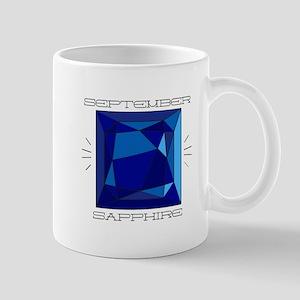 September Sapphire Mugs