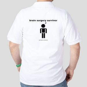 Brain Surgery (backprint) Golf Shirt