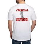 No Backbone Anti-Liberal Fitted T-Shirt