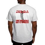 No Backbone Anti-Liberal Ash Grey T-Shirt