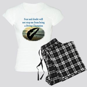 INSPIRING DIVER Women's Light Pajamas