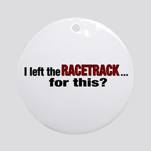 Racetrack Ornament (Round)