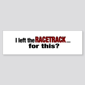 Racetrack Bumper Sticker