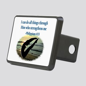 BLESSED DIVER Rectangular Hitch Cover