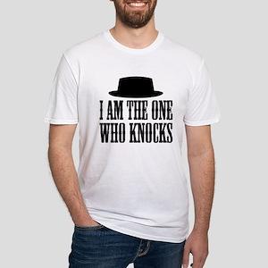 Heisenberg Knocks Fitted T-Shirt