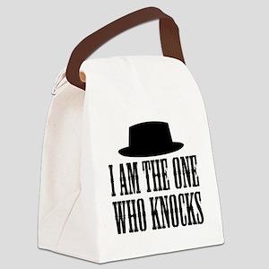 Heisenberg Knocks Canvas Lunch Bag