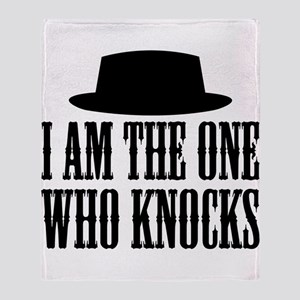 Heisenberg Knocks Throw Blanket