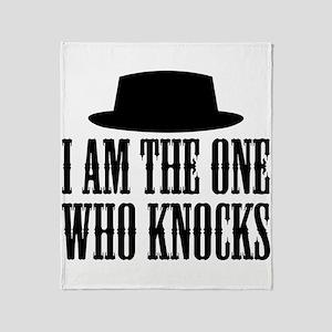 Heisenberg Knocks Throw Blanket