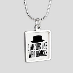 Heisenberg Knocks Silver Square Necklace
