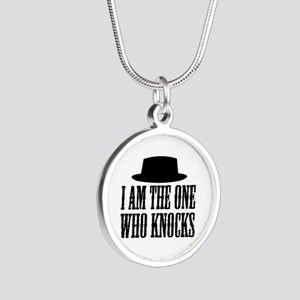 Heisenberg Knocks Silver Round Necklace