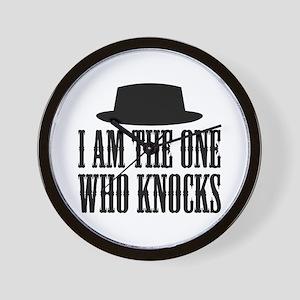 Heisenberg Knocks Wall Clock
