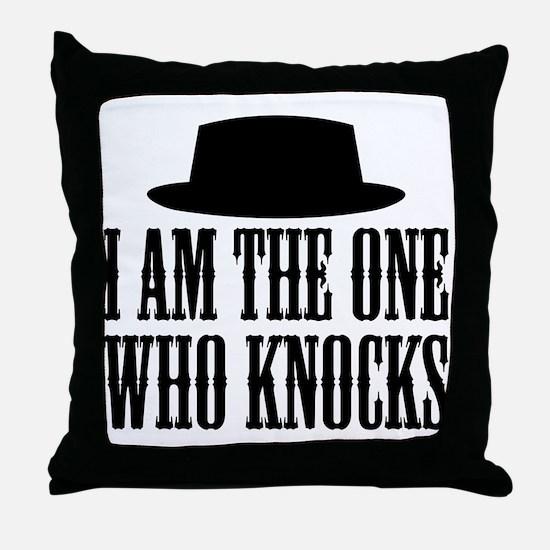 Heisenberg Knocks Throw Pillow