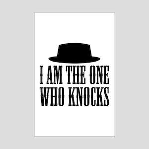 Heisenberg Knocks Mini Poster Print