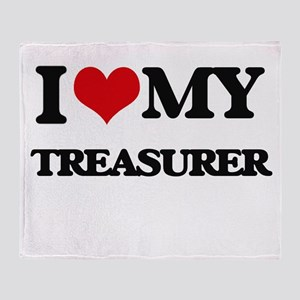 I love my Treasurer Throw Blanket