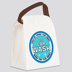 A1A Car Wash Canvas Lunch Bag