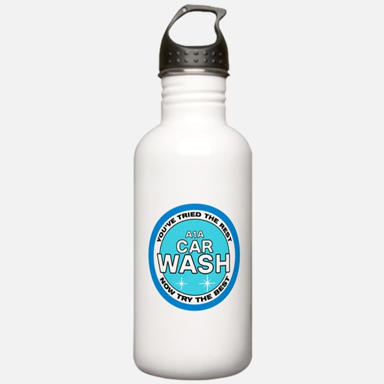 A1A Car Wash Sports Water Bottle