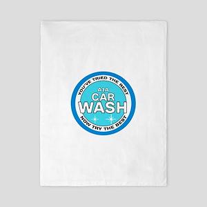 A1A Car Wash Twin Duvet