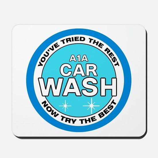 A1A Car Wash Mousepad