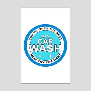 A1A Car Wash Mini Poster Print
