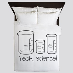 Yeah, Science! Queen Duvet