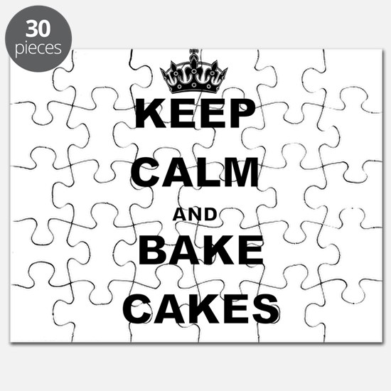 KEEP CALM AND BAKE CAKES Puzzle