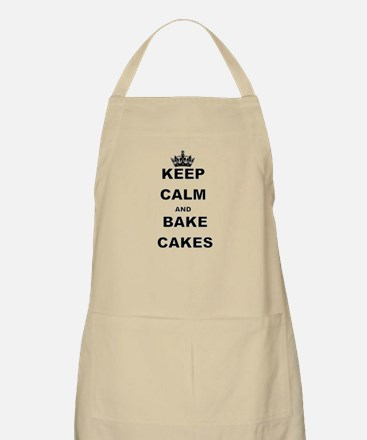 KEEP CALM AND BAKE CAKES Apron