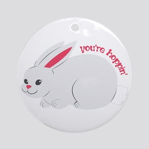 Youre Hoppin Ornament (Round)