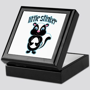 Little Stinker Skunk Keepsake Box