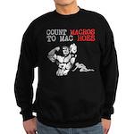 Count Macros To Mac Hoes Sweatshirt