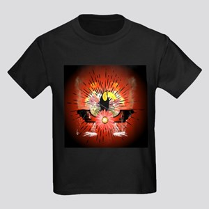 Cute parrot sitting on a branch T-Shirt