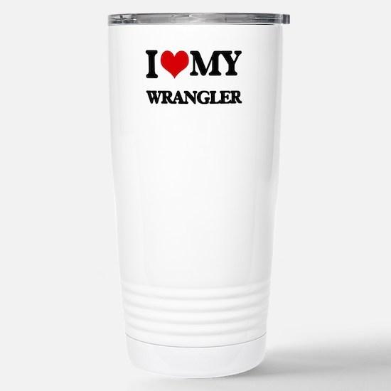 I love my Wrangler Stainless Steel Travel Mug