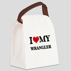 I love my Wrangler Canvas Lunch Bag