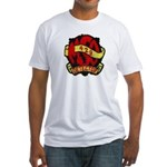 USS DETECTOR Fitted T-Shirt