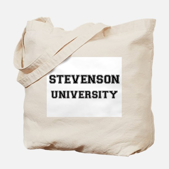 STEVENSON UNIVERSITY Tote Bag