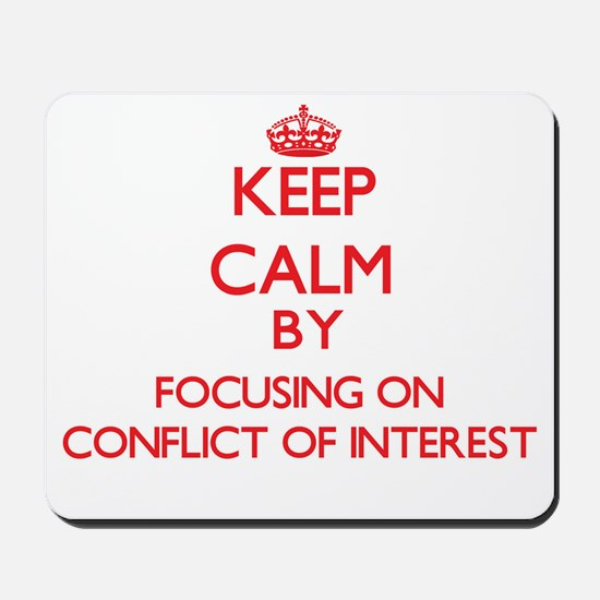 Conflict Of Interest Mousepad