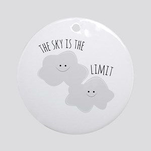 Skys The Limit Ornament (Round)