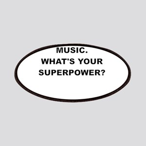 I TEACH MUSIC WHATS YOUR SUPERPOWER Patches