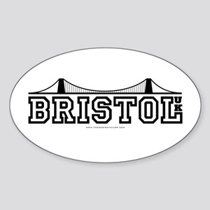 bristol Oval Sticker