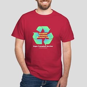 Organ Transplant Survivor Dark T-Shirt