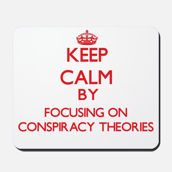 Conspiracy Theories Mousepad