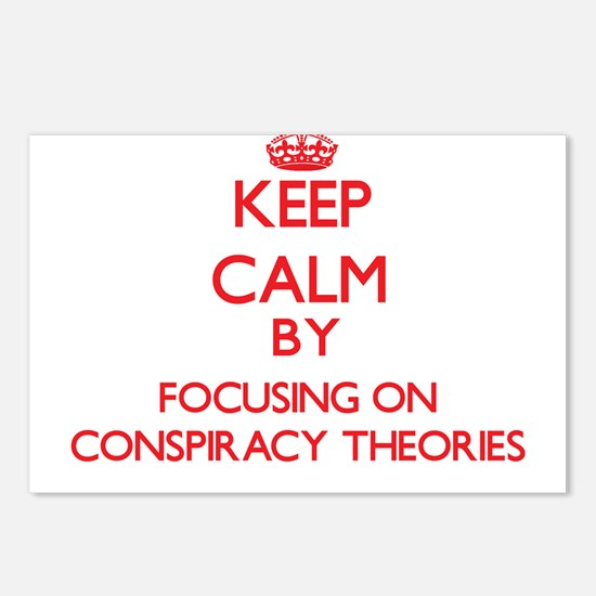 Conspiracy Theories Postcards (Package of 8)