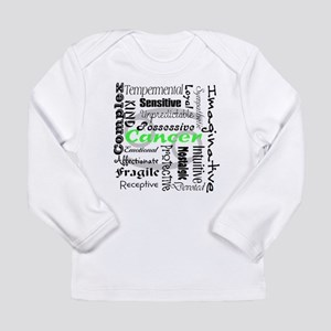 Cancer Collage Long Sleeve T-Shirt