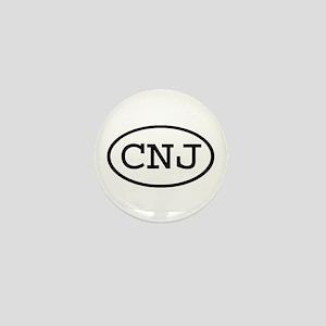 CNJ Oval Mini Button