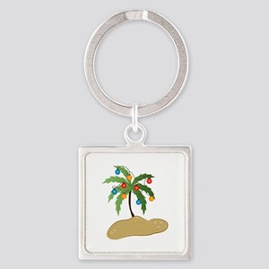 Tropical Christmas Keychains
