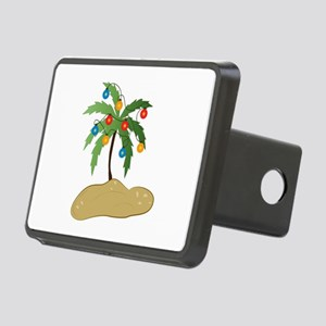 Tropical Christmas Hitch Cover