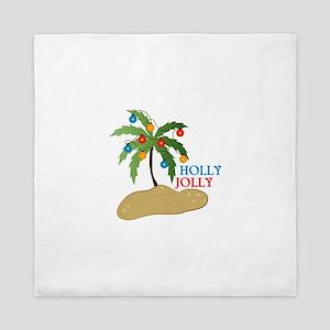 Holly Jolly Queen Duvet