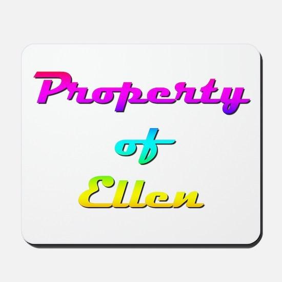 Property Of Ellen Female Mousepad
