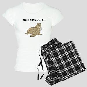 Custom Brown Walrus Pajamas