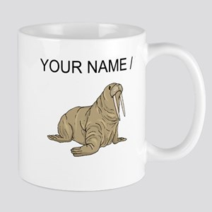 Custom Brown Walrus Mugs