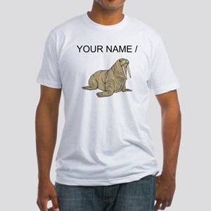 Custom Brown Walrus T-Shirt